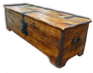 Mexican Pinewood Chest 49