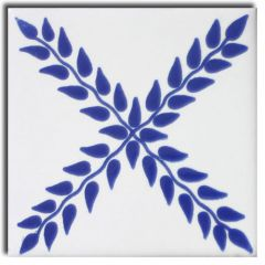 Mexican Talavera Frost Proof Tile 'Cantalejo'
