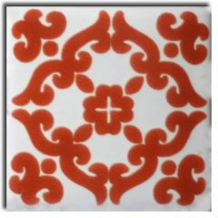 Mexican Talavera Frost Proof Tile 'Guadal '