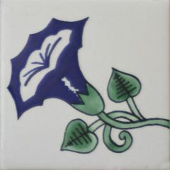 Mexican Talavera Frost Proof Tile 'Hondo'