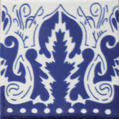Mexican Talavera Frost Proof Tile 'Lugo'