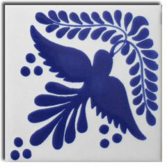 Mexican Talavera Frost Proof Tile 'Sonora'