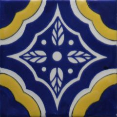 Mexican Talavera Frost Proof Tile 'Tule'