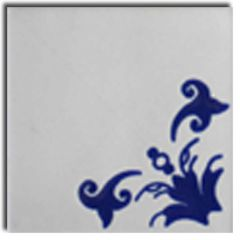 Mexican Talavera Frost Proof Tile 'Uria'