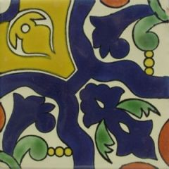 Mexican Talavera Frost Proof Tile 'Valdes'