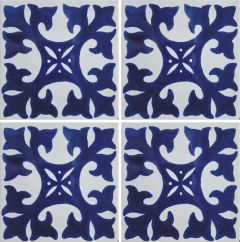 Mexican Talavera Frost Proof Tile 'Fuentes'
