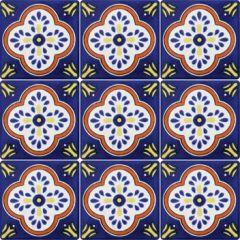 Mexican Talavera Frost Proof Tile 'Reforma'